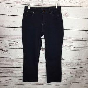 Talbots 8P straight curvy jeans